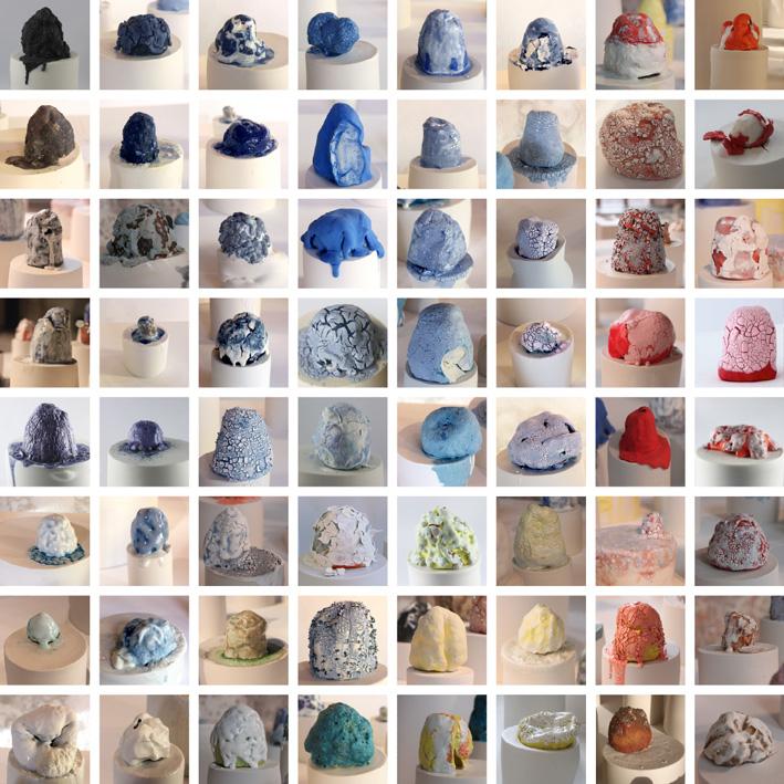 Classement des pièces céramiques de Laura Plassier